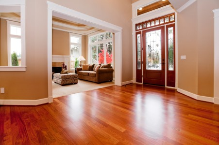 Wood floor cleaning by K&D Carpet & Cleaning Services