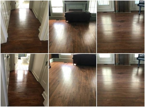 Before & After Hardwood Floor Cleaning in Atlanta, GA (1)